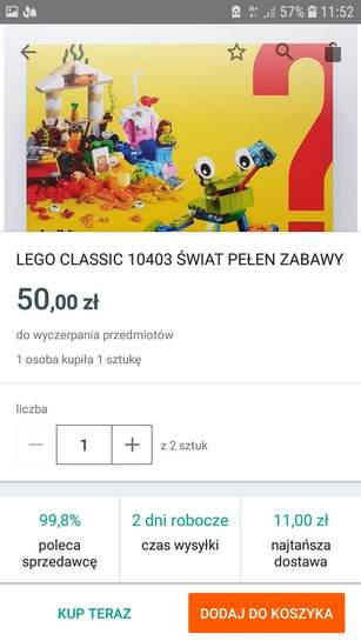 Klocki Lego Do 53 Taniej At Lidl Pepperpl