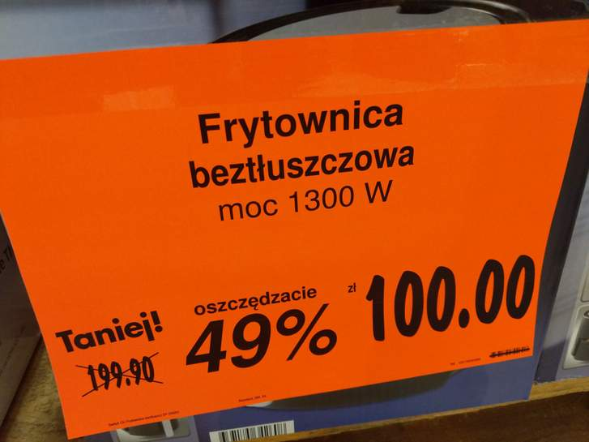 Frytkownica switch on Kaufland Pepper.pl