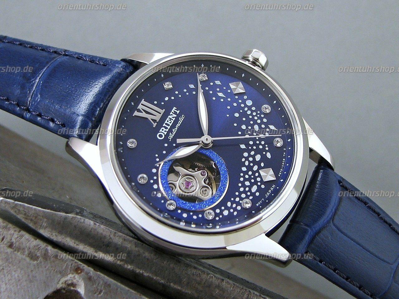 Masywnie Zegarek damski Orient Blue Moon II Automatic - Pepper.pl JL23