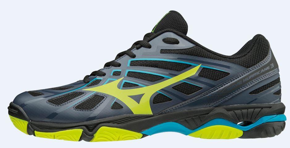 bad308ac Mizuno Wave Hurricane 3 Mid to najnowsza propozycja uniwersalnych butów  siatkarskich na każdą pozycję. Buty zostały zaprojektowane w kolorze  czarnym z ...