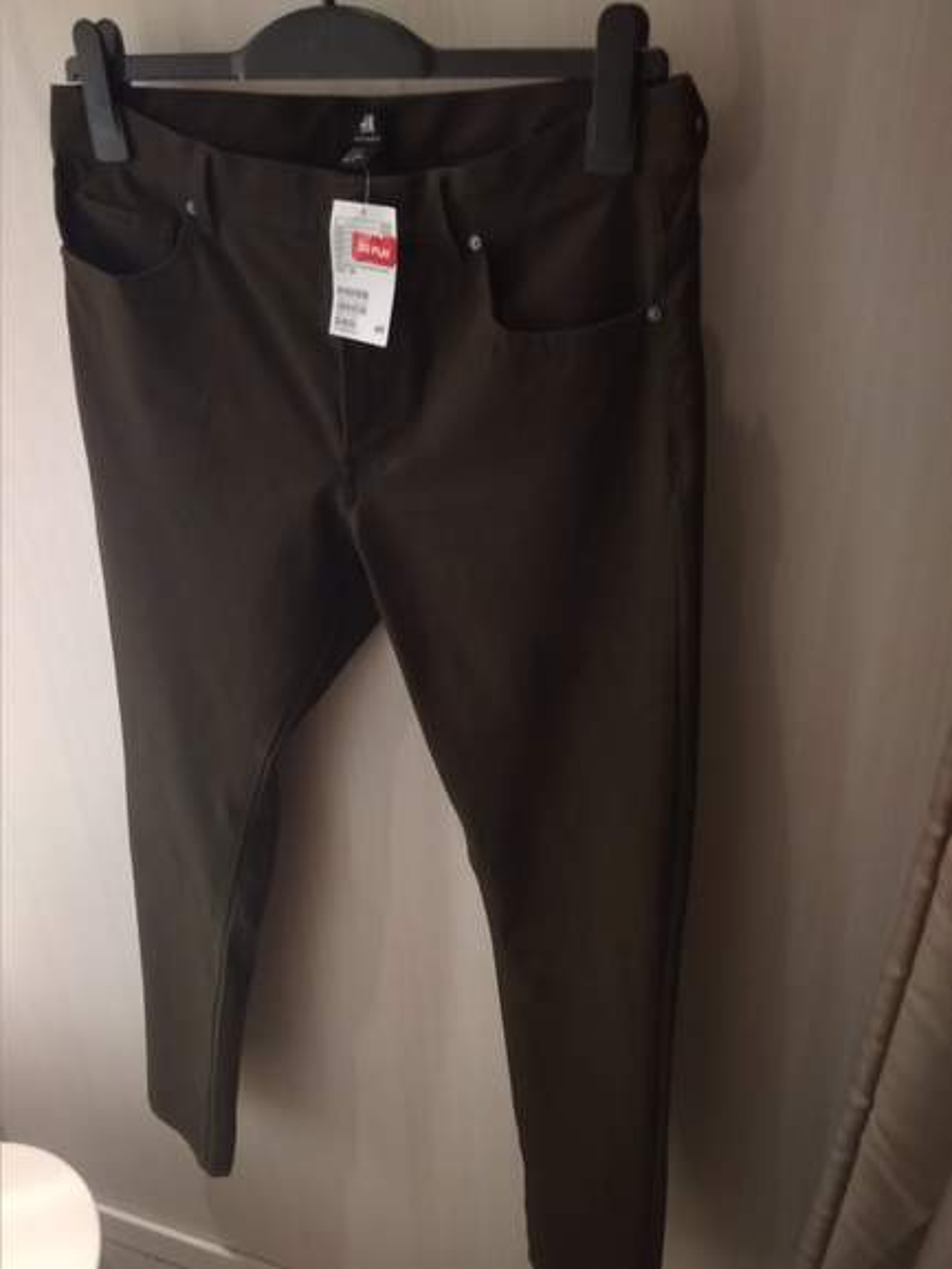0eda9859e497b Spodnie męskie kolor oliwkowy za 20 PLN w H&M Łódź Galeria. Spodnie albo  mocno slim albo skinny (nie znam się 😉