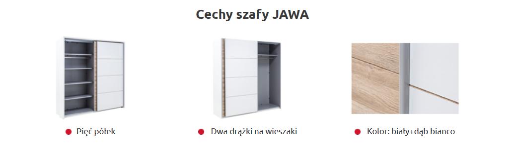 Szafa Jawa Z Półkami I Drążkiem Za 570zł At Agata Meble