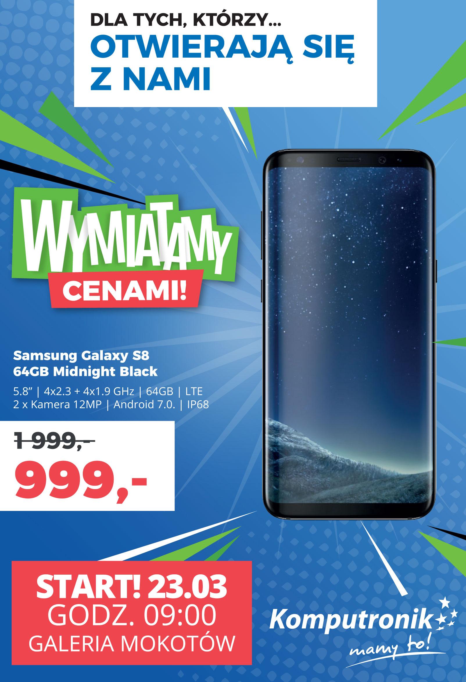 Samsung Galaxy S8 64gb Komputronik Warszawa Galeria Mokotów Pepperpl