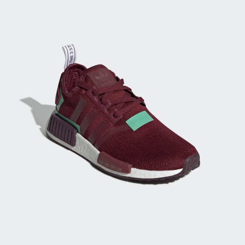 adidas nmd burgund red