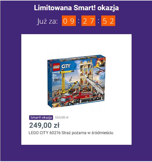 Lego 60216 Straż Pożarna W śródmieściu Pepperpl