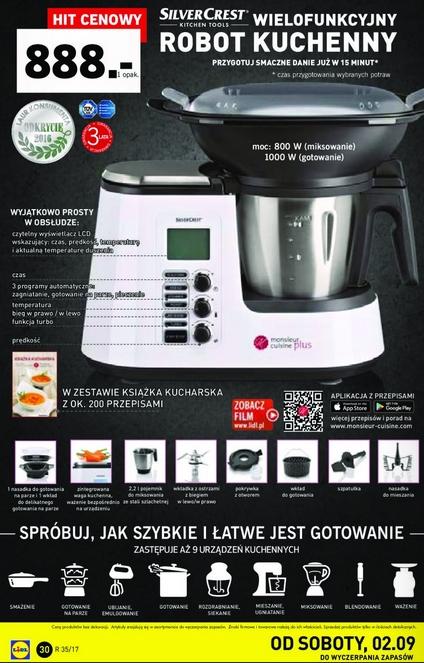 wielofunkcyjny robot kuchenny silvercrest monsieur cuisine. Black Bedroom Furniture Sets. Home Design Ideas
