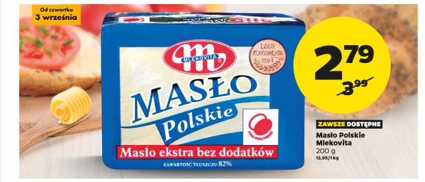 Masło polskie Mlekovita za 2,79zł @ Netto