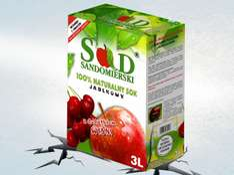 Tłoczony sok jabłkowy Sad Sandomierski 3L za 9,99zł @ Lidl