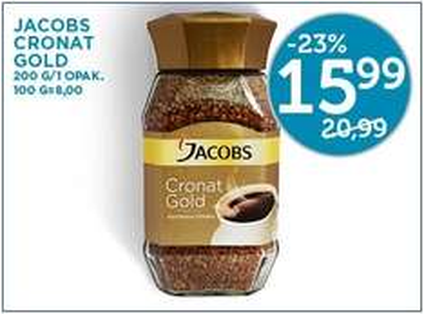 Kawa Jacobs Cronat Gold za 15,99zł / 200g @ Lidl