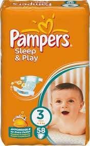 Pieluszki Pampers Sleep&Play za 23,99zł @ Netto