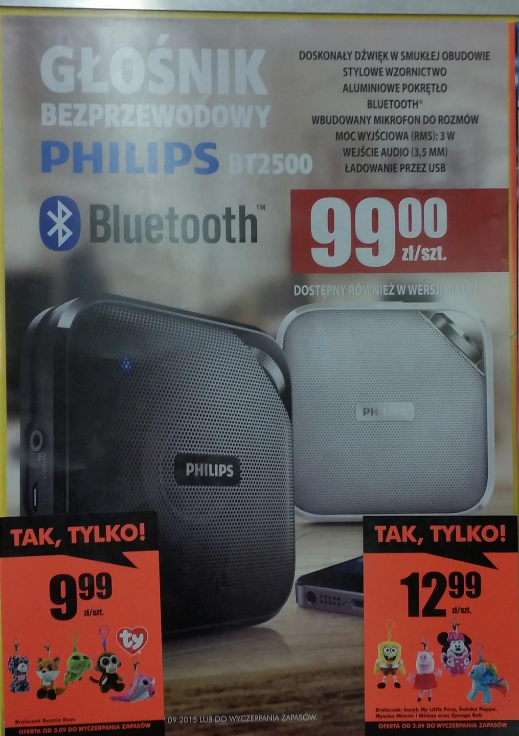 Głośnik bezprzewodowy Philips BT2500 - Biedronka