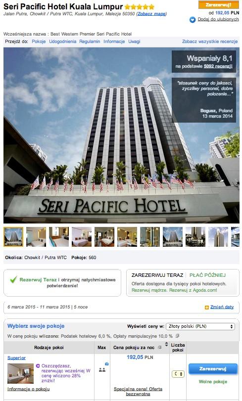 8 dni w malezji przeloty+przejazdy+noclegi w 4/5 gwiazdkowych hotelach  za łącznie 2726zł! @ WakacyjniPiraci