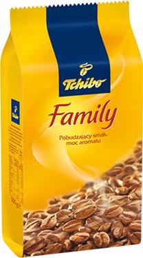 Kawa mielona Tchibo Family 500 g - 7,99 zł @ Kaufland