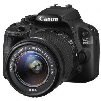 Lustrzanka cyfrowa Canon EOS 100D + obiektyw 18-55 mm IS STM za 1699zł @ Agito