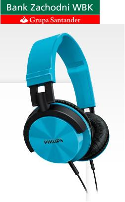 Konto za darmo i słuchawki Philips gratis @ BZWBK