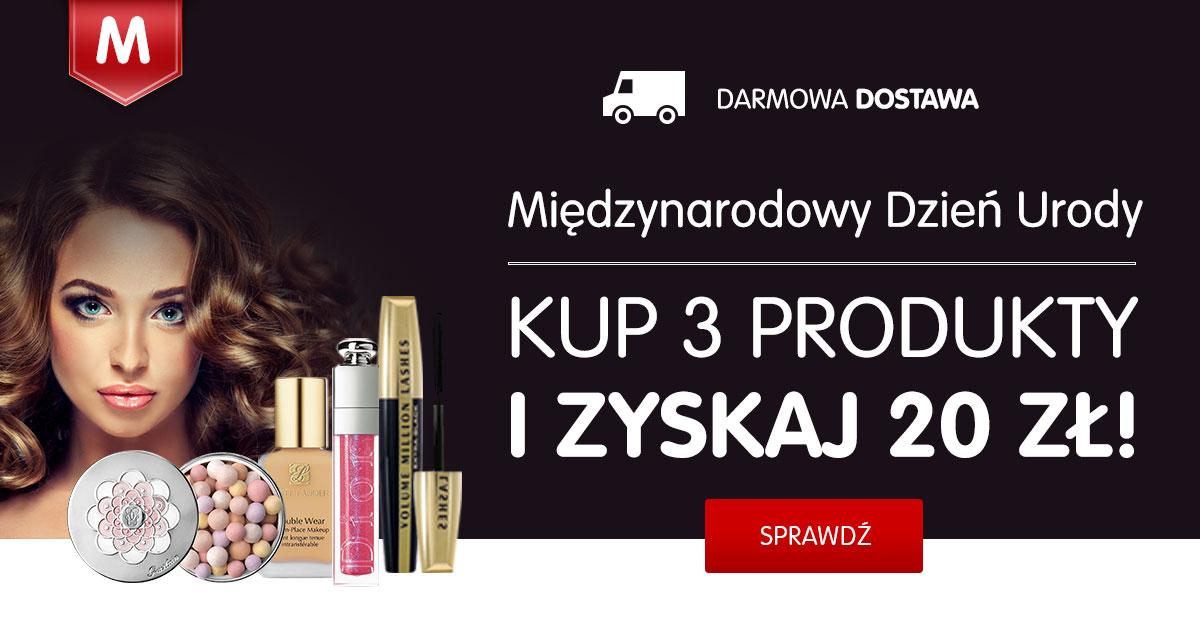 Kup kosmetyki na mall.pl i zyskaj 20 zł