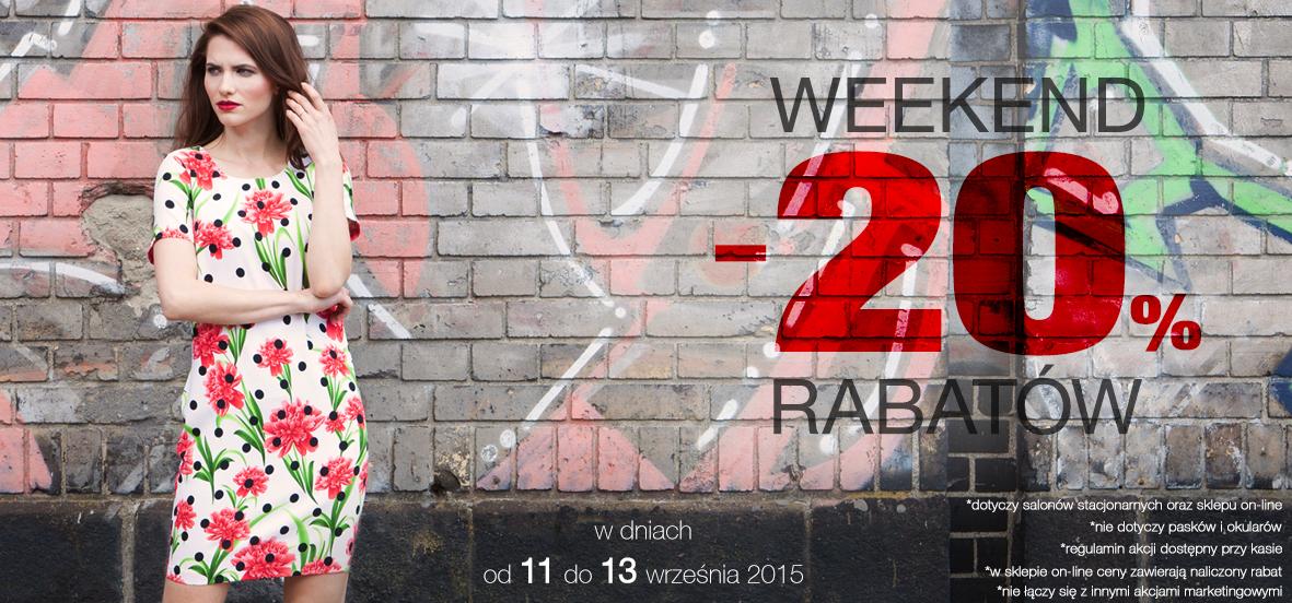 Weekendowy rabat -20% na wszystko @ Pretty Girl