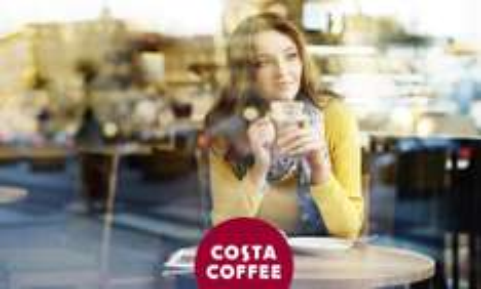 30% RABATU w Costa Coffee @ Blik
