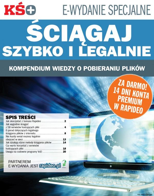 Darmowe e-wydanie KŚ+ a w nim kod na konto premium w Rapideo.pl