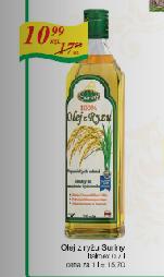 Olej z ryżu Suriny 700ml w cenie 10,99zł @ Frac