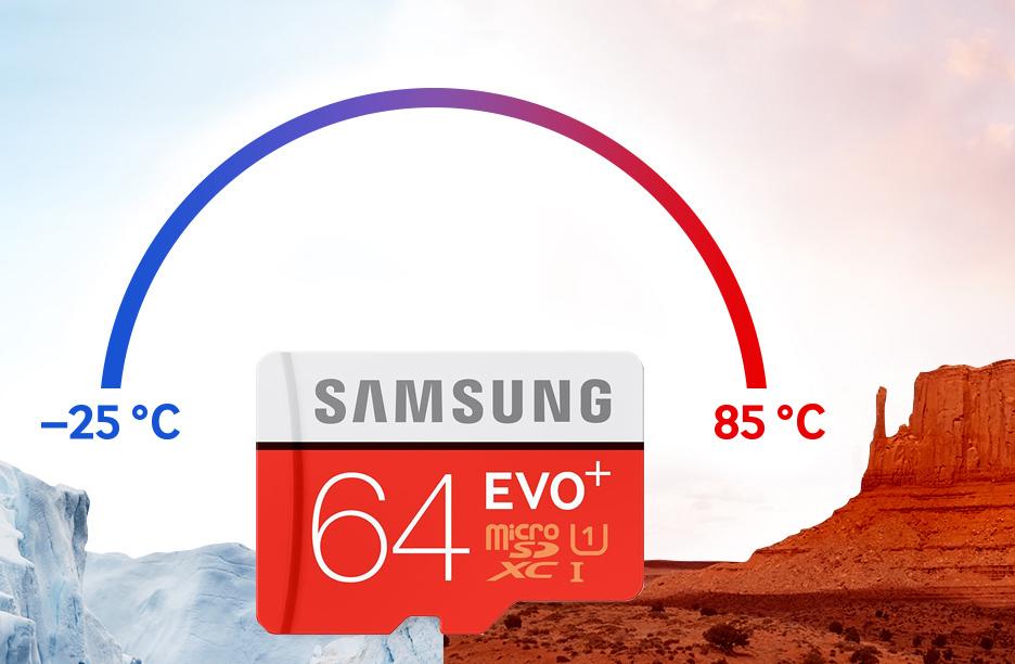 Karta microSDXC Samsung Evo Plus (80MB/s) 64GB za 89zł @ X-Kom