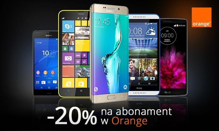 20% rabatu na 24 miesiące abonamentu w Orange za 19zł @ Groupon