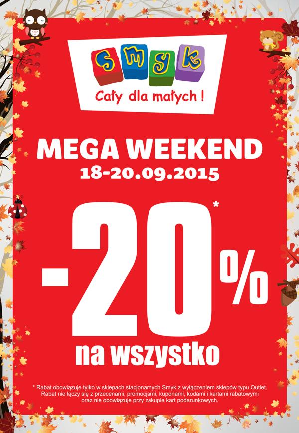 Rabat -20% na wszystko @ Smyk