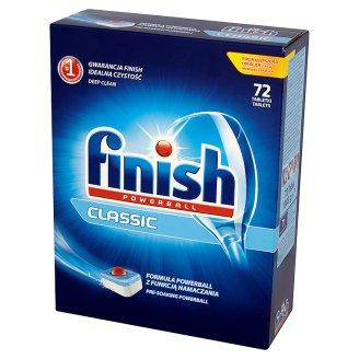 Tabletki do zmywarki Finish Powerball Classic (zwykłe lub cytrynowe) 72 sztuki za 25,99zł (0,36gr/szt.) @ Tesco