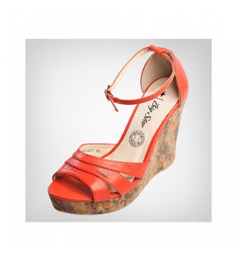 Damskie sandały na koturnie za 51zł (120zł taniej!) @ Bluestilo.com