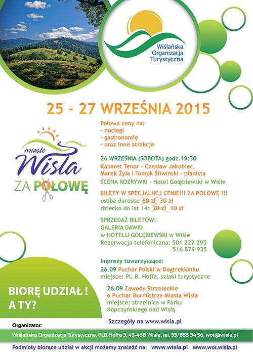 Weekend za pół ceny (noclegi, gastronomia...) @ miasto Wisła