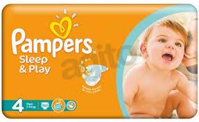 Pieluchy Pampers Sleep&Play w cenie 23,95zł (41gr za pieluchę) @ Kaufland