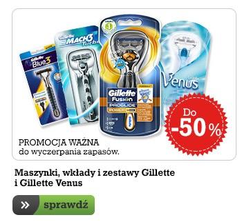 Zestawy Gilette Fusion Proglide -50%