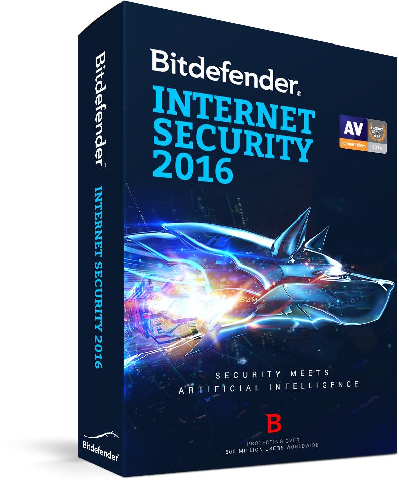 Bitdefender Internet Security 2016 ZA DARMO (6 miesięcy) @ SharewareOnSale