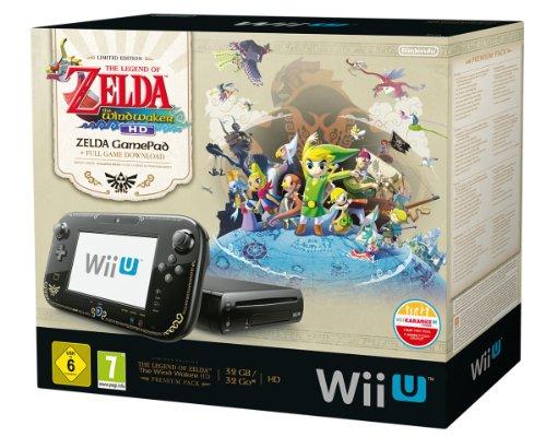 Wii U Premium (32GB) w Limitowanej Edycji + gra Zelda Wind Waker za 1130zł @ Amazon.de