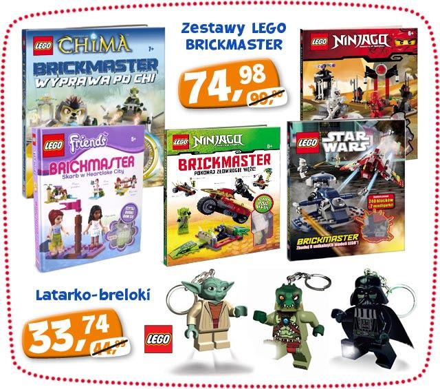 Lego Brickmaster oraz latarko-breloki Lego 25% taniej @ ToysRus