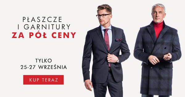 Płaszcze i garnitury za połowę ceny @ Próchnik
