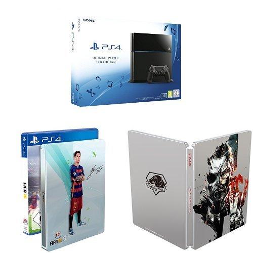 Playstation 4 1TB + Fifa 16 + MGS V za ok. 1780zł @ Amazon.de