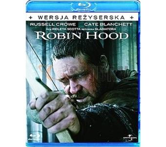 [Blu-Ray] Robin Hood (wersja reżyserska) za 19,99zł @ Saturn