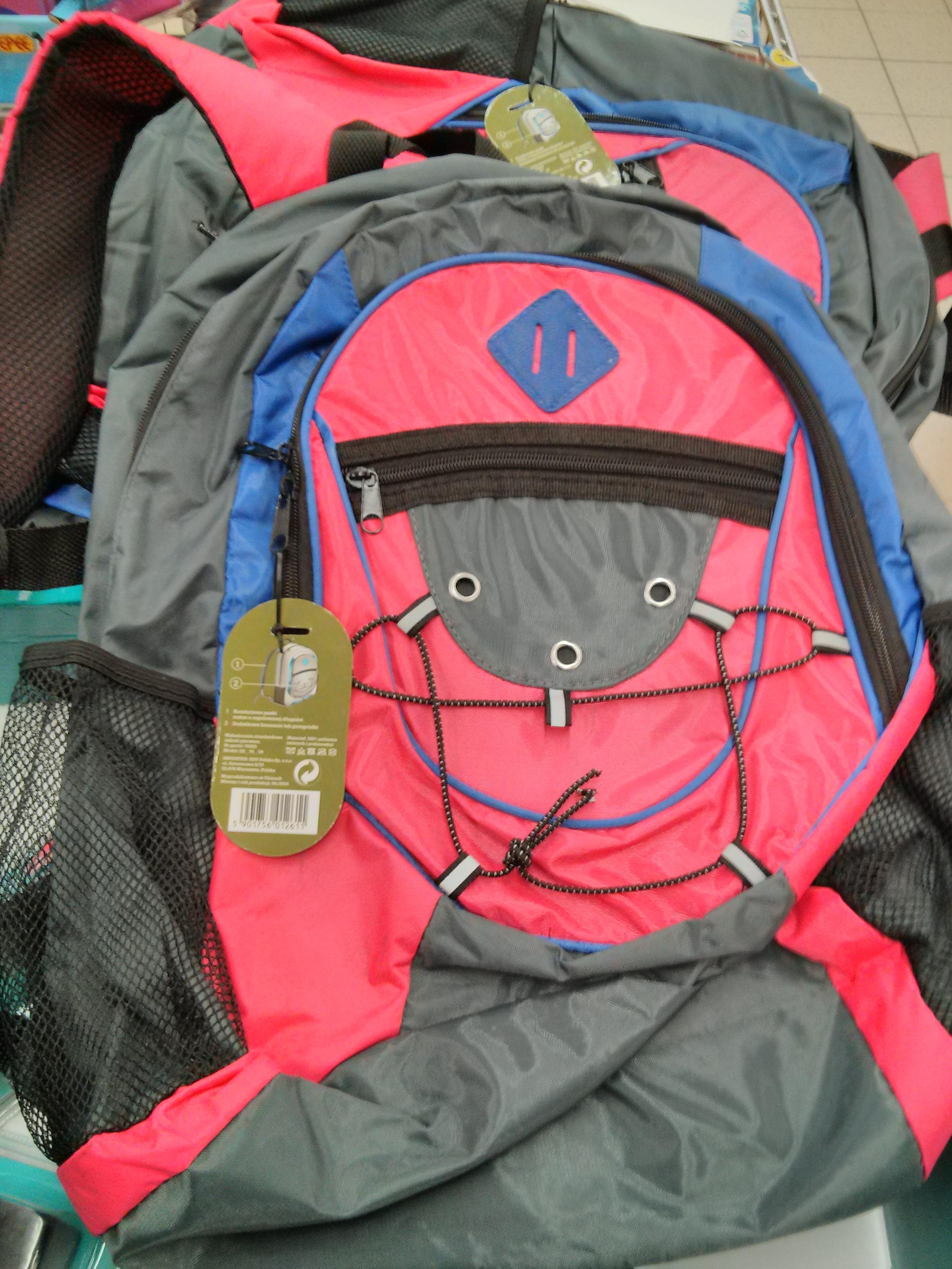 Plecak podróżny za 8,90 zł @ Biedronka