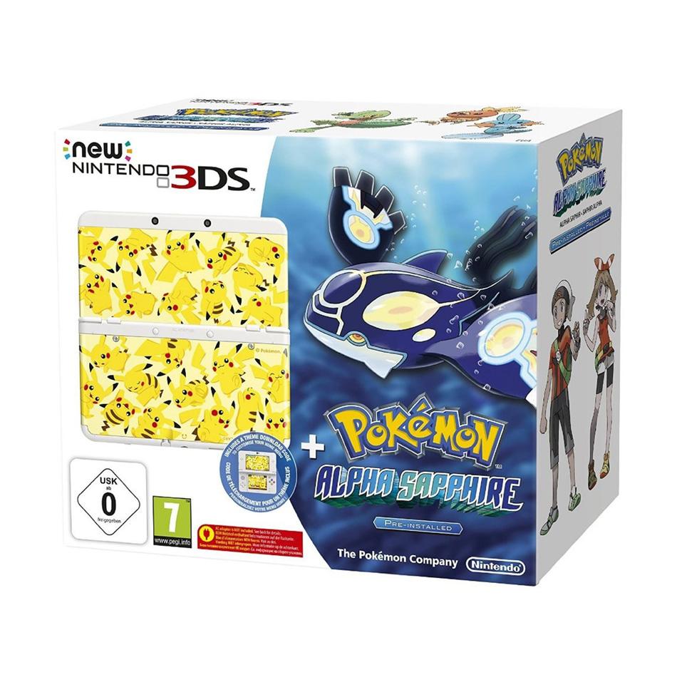 New Nintendo 3DS + Pokemon Alpha Sapphire za 628zł z dostawą @ Amazon.co.uk