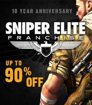 Serie Tomb Raider i Sniper Elite w promocji (do -90%) @ Steam