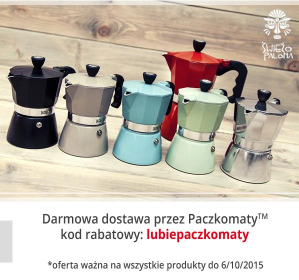 Darmowa dostawa do paczkomatu @ świeżo palona, tusz markt, glonojad