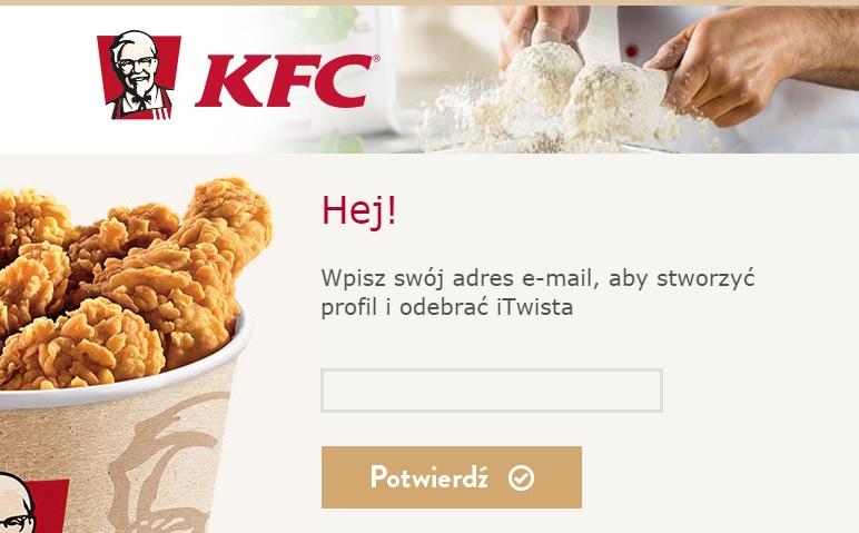 iTwist za DARMO (wymagane konto Facebooka) @ KFC