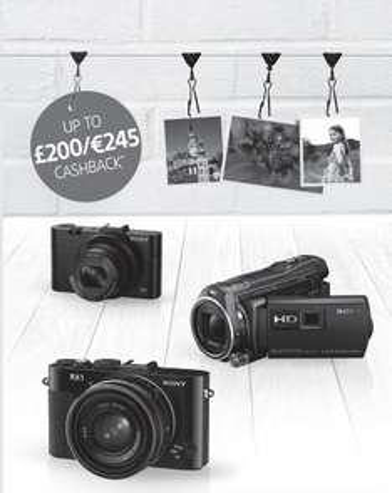 Cashback na kamery oraz aparaty Sony nawet 1000zł! @ Amazon