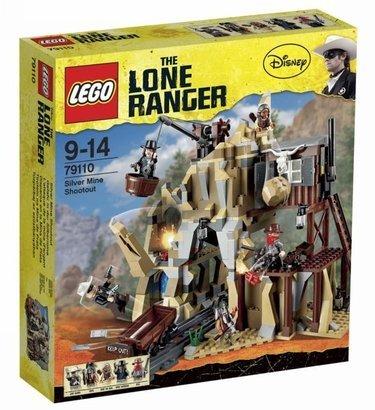 LEGO Lone Ranger - Strzelanina w kopalni srebra  (79110) za 239,99zł @ Merlin