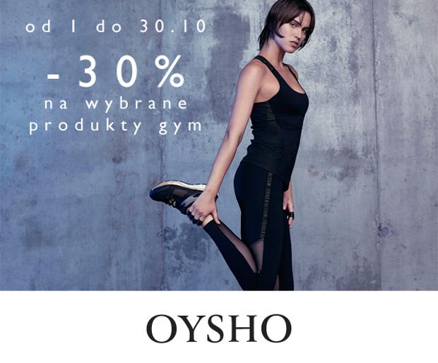 Kolekcja GYM taniej o 30% @ Oysho