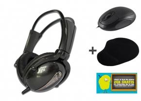 Zestaw: Słuchawki Lenovo P723 +  mysz + podkładka + internet 2GB za 49zł @ X-kom