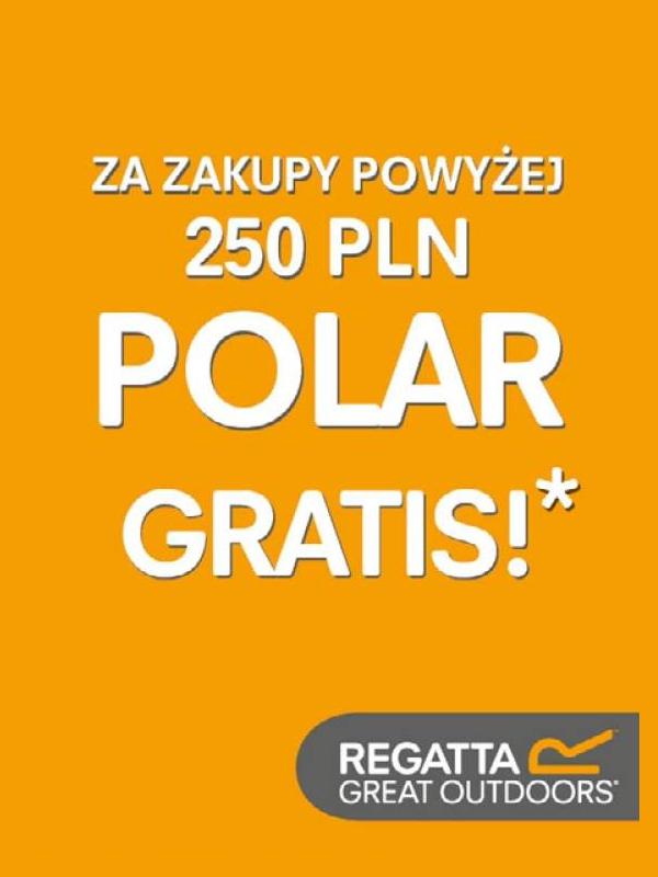 Polar gratis przy zakupach pow.250zł @ Regatta