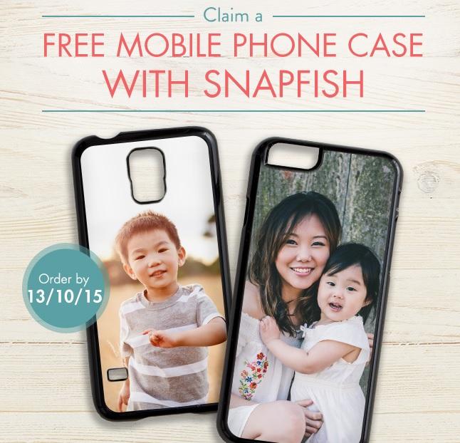 Darmowy case do smartfona z własnym zdjęciem (opłata tylko za przesyłkę) @ Snapfish