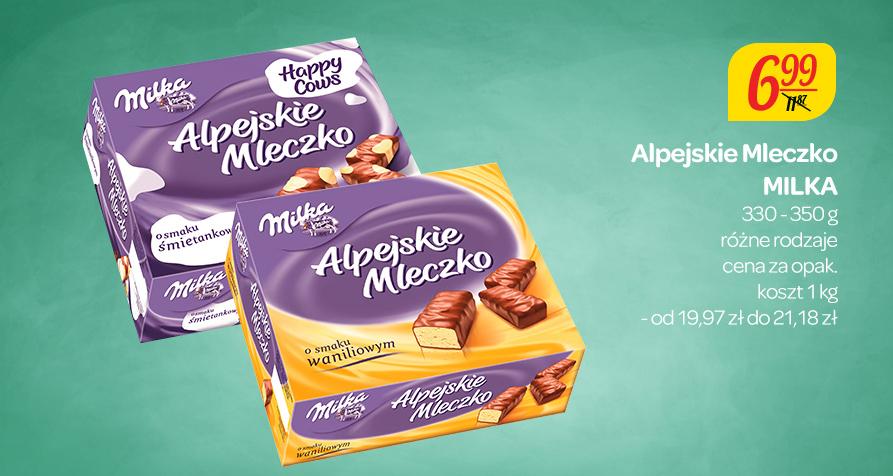 Alpejskie Ptasie Mleczko Milki za 6,99zł @ Carrefour